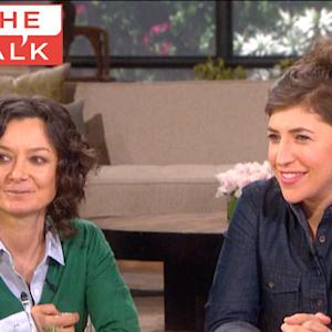 The Talk - Mayim Bialik's TV Kiss and Tell