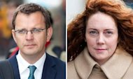 Andy Coulson And Rebekah Brooks In Court