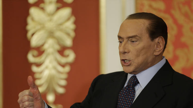 I'm back: Berlusconi's post-conviction about-face