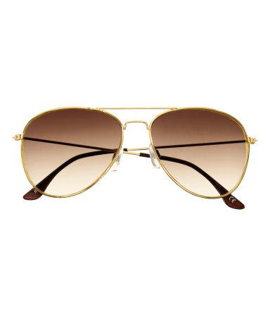 Gold Aviator, $7.95