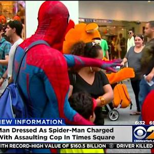 Police: 5 Costumed Characters Arrested Saturday In Times Square
