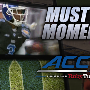 Duke's Jamison Crowder With 68-Yard Punt Return for TD | ACC Must See Moment
