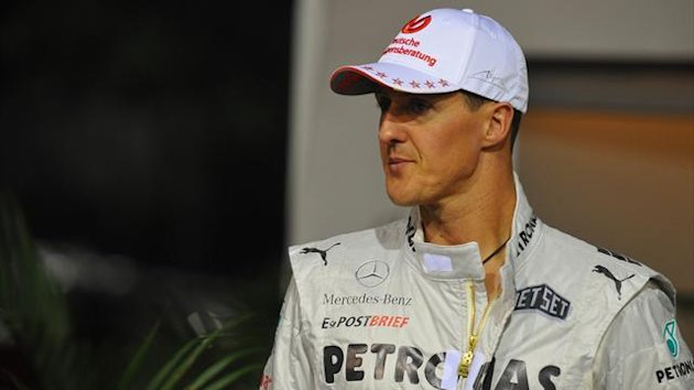 2012, Mercedes, Michael Schumacher (AP/LaPresse)