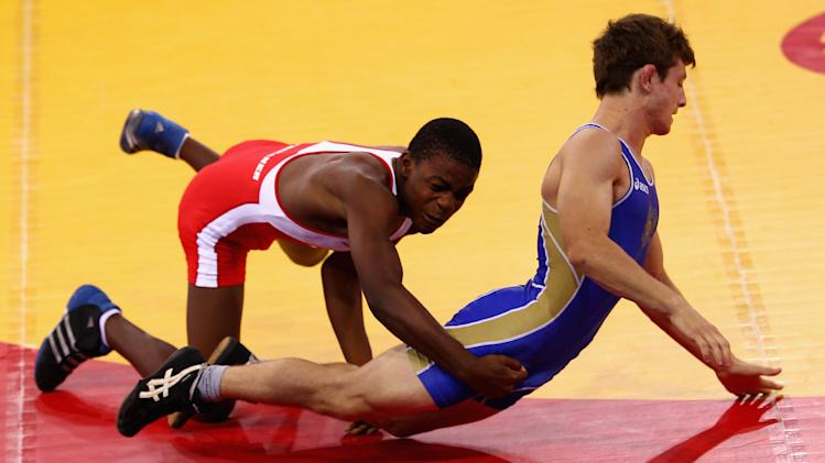 Youth Olympics Day 1 - Wrestling