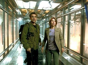 Nick Stahl and Claire Danes in Warner Brothers' Terminator 3: Rise of the Machines