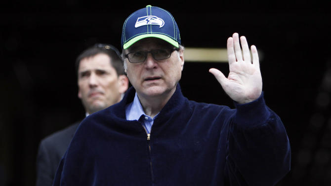 Seahawks owner Paul Allen pledging $100M in fight against Ebola