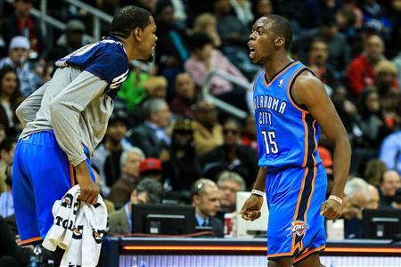 NBA: Oklahoma City Thunder at Atlanta Hawks