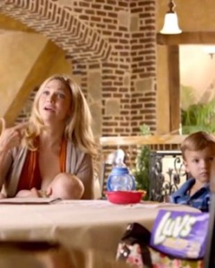 Luvs' breastfeeding commercial doesn't shy away from a heated topic.