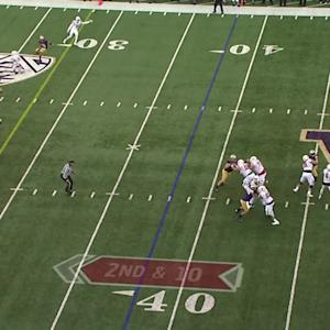 Highlight: Washington football's Sidney Jones returns interception 69 yards for touchdown