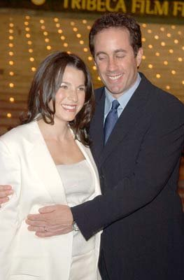 Jerry Seinfeld and wife Jessica Tribeca Film Festival, 5/1/2003