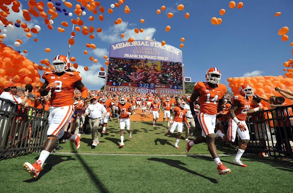 No. 3 Clemson off to Carrier Dome
