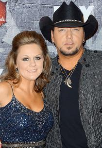 Jason Aldean and Jessica Aldean  | Photo Credits: Frazer Harrison/Getty Images.