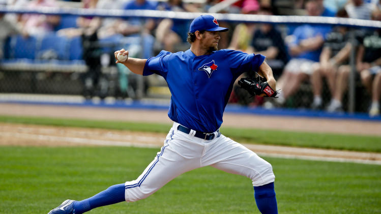 MLB: Spring Training-Boston Red Sox at Toronto Blue Jays