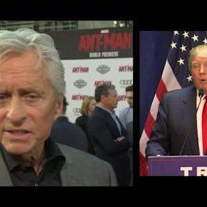 'Ant-Man' Stars on Trump