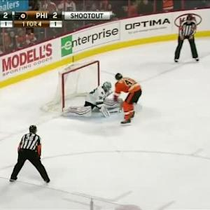 Alex Stalock Save on Vincent Lecavalier (00:00/SO)