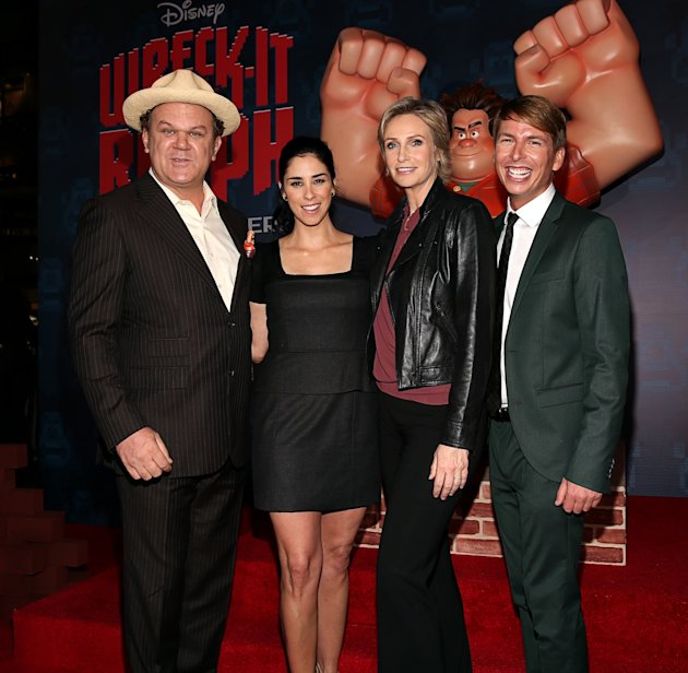 Premiere Of Walt Disney Animation Studios' &quot;Wreck-It Ralph&quot; - Red Carpet