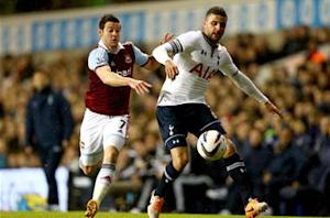 Tottenham 1-2 West Ham: Nightmare start for Sherwood as Hammers rally to go through