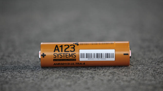 Chinese company wins bid for battery maker A123