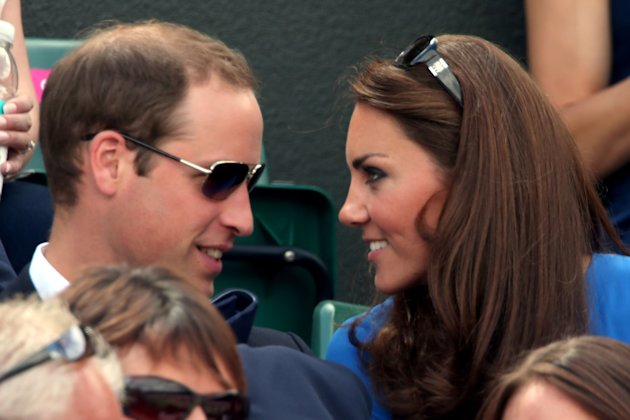 Pangeran William dan Kate Middleton di Olimpiade