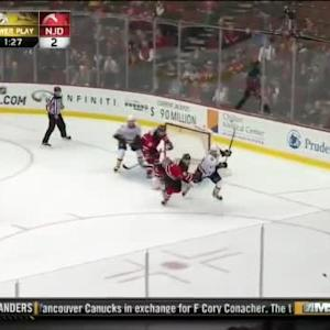 Cory Schneider Save on Craig Smith (18:48/2nd)