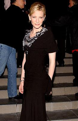 Cate Blanchett at the Los Angeles screening of Touchstone Pictures' The Life Aquatic with Steve Zissou