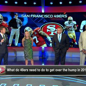 What do the San Francisco 49ers have to do to get over the hump in 2014?