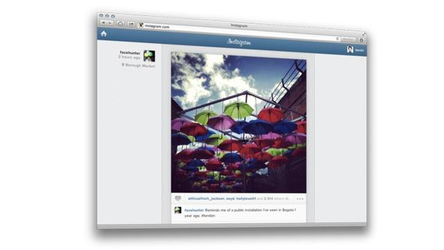 Instagram Comes to the Web