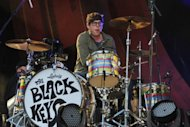 Patrick Carney of The Black Keys performs onstage at the Global Citizen Festival In Central Park during an event organized by the Global Poverty Project, on September 29, in New York City