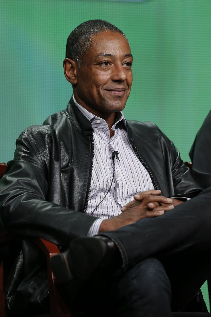 "This Tuesday, July 24, 2012 photo shows Giancarlo Esposito, who stars in the upcoming NBC series ""Revolution,"" during the NBCUniversal Press Tour in Beverly Hills, Calif. The series premieres Sept. 17, at 10 p.m. EST on NBC.(AP Photo/NBC, Chris Haston)"