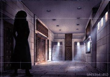 Production art for Columbia's Underworld