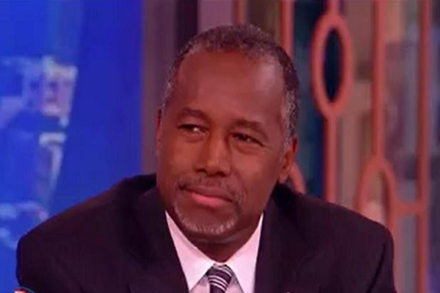 'The View's' Whoopi Goldberg Grills Ben Carson on Abortion