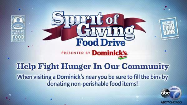 2013 Spirit of Giving Food Drive presented by Dominick's