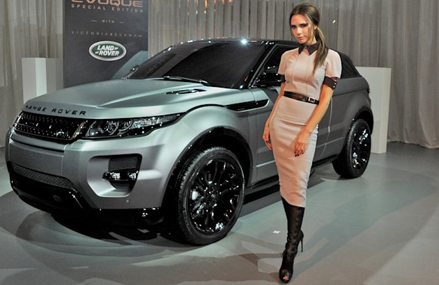Victoria Beckham Range Rover Evoque