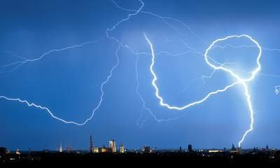Lightning Strike Injures 39 In Germany