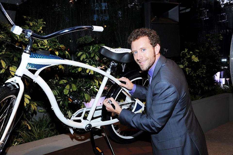 "TJ Thyne of ""Bones"" celebrates at the 2010 Fox Fall Eco-Casino party on September 13, 2010, at Boa in West Hollywood."