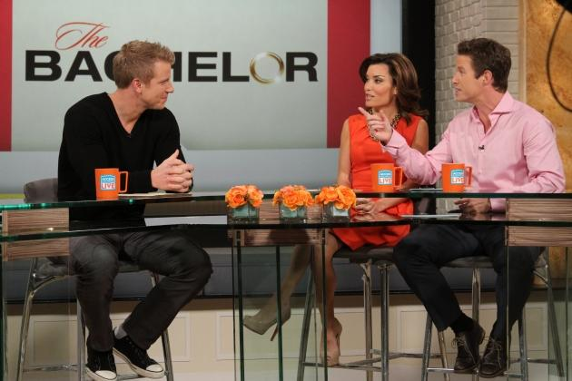 Sean Lowe visits Access Hollywood Live, February 5, 2013 -- Access Hollywood