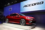 Honda's US arm announced a recall of 572,000 mid-size Accords at risk of catching fire due to faulty power steering hoses