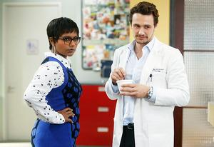 Mindy Kaling and James Franco | Photo Credits: FOX