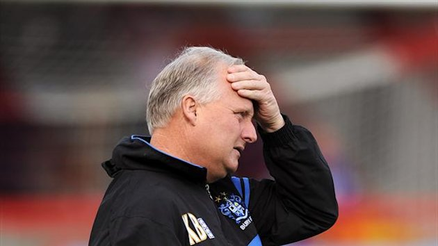 Kevin Blackwell's Bury will play their football in League Two next season