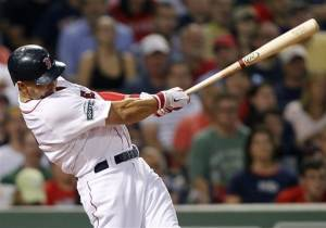Ross hits 2 3-run HRs in Boston's 10-1 rout