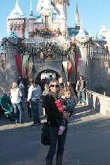 Ryan Patterson and daughter Harlow at Disneyland -- Access Hollywood