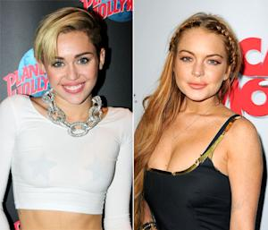 Miley Cyrus and Lindsay Lohan Party in NYC Together -- Exclusive Details