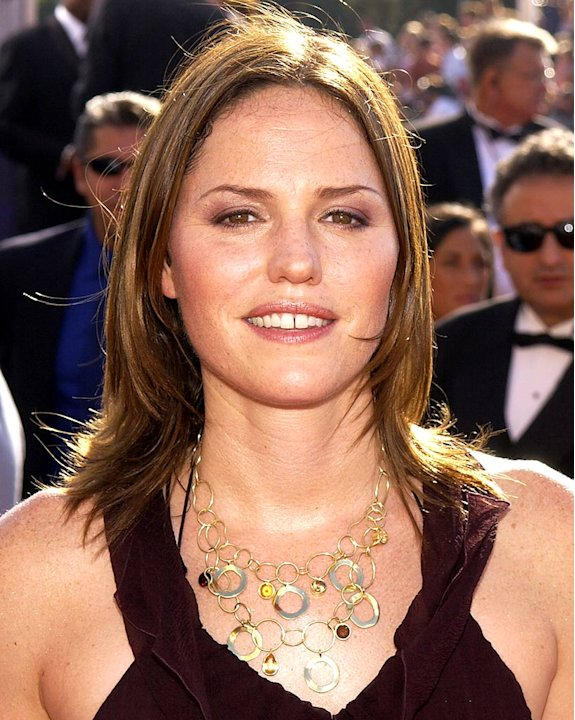 Jorja Fox at The 55th Annual Primetime Emmy Awards.