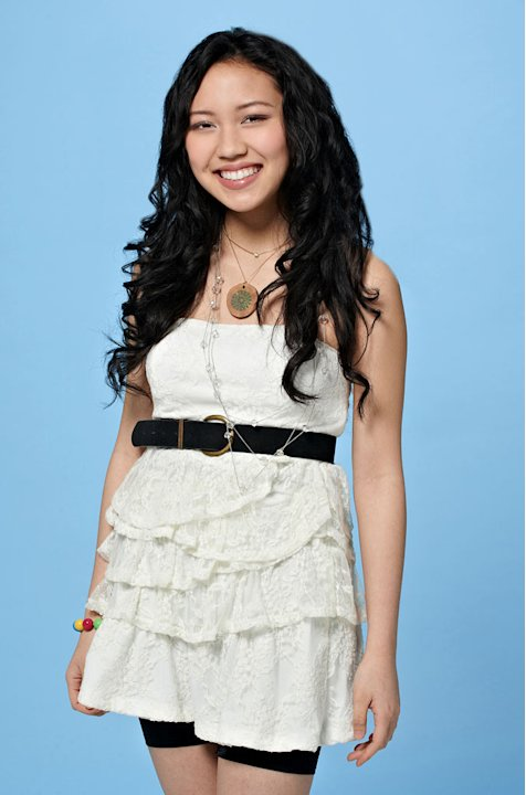 Thia Megia, 16, from Hayward, CA competes on the tenth season of &quot;American Idol.&quot;