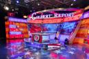 Take a tour of The Colbert Report studio before it's demolished tonight