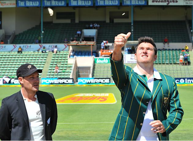South Africa v New Zealand - Second Test: Day 1