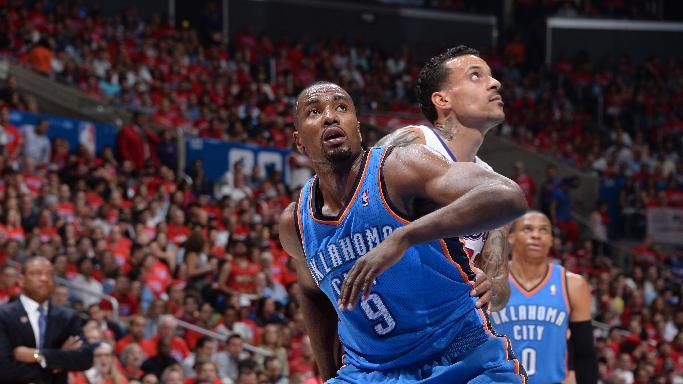 Thunder F Ibaka to start Game 3
