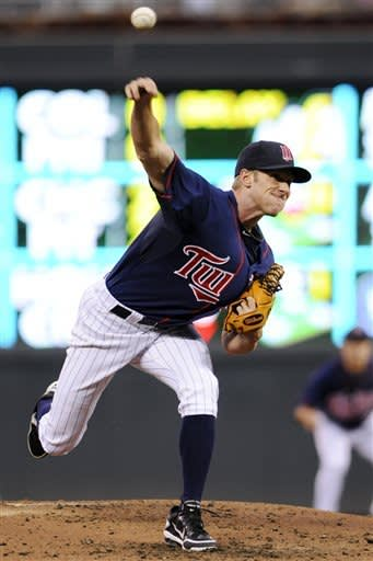 DeVries works 6 innings as Twins beat Indians 3-0