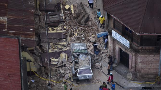 Guatamala earthquake