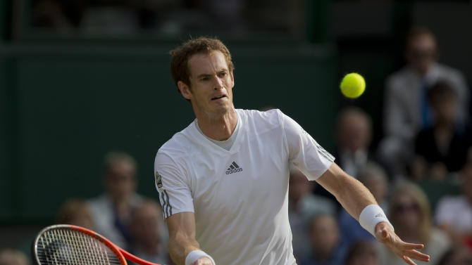 Tennis: 2013 Wimbledon Murray vs Verdasco